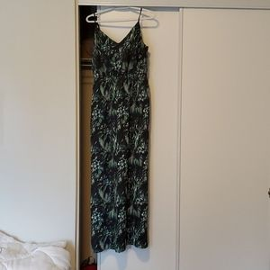 Dynamite tropical print maxi dress - size M